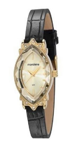 Relógio Mondaine Pulseira Couro Vintage 83291lpmvdh1