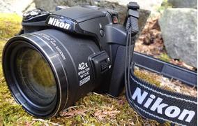 Camera Nikon P-510 Com 3 Baterias + Carregador Externo