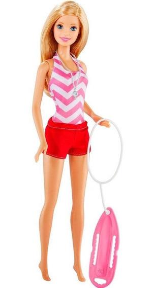 Barbie Profissões Salva Vidas - Mattel