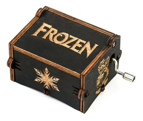 Caja Musical De Madera Frozen -
