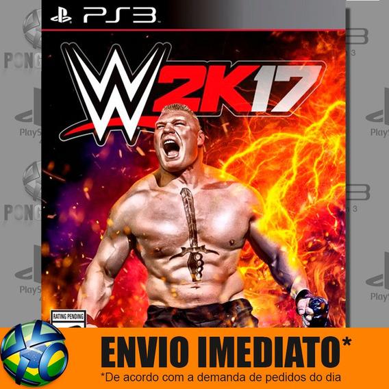 Wwe 2k17 Ps3 Digital Psn Envio Agora Play 3 Promoção