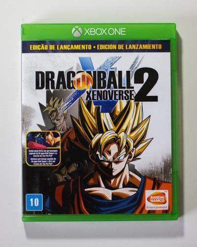 Jogo Dragon Ball Xenoverse 2 Mídia Física Xbox One +garantia