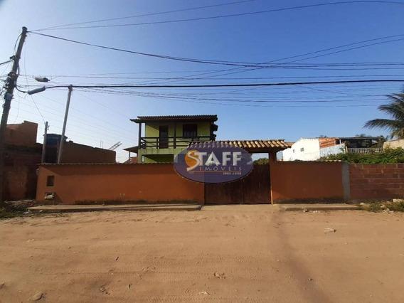 Casa Com 3 Dormitórios À Venda, 120 M² Por R$ 220.000 - Unamar - Cabo Frio/rj - Ca1378