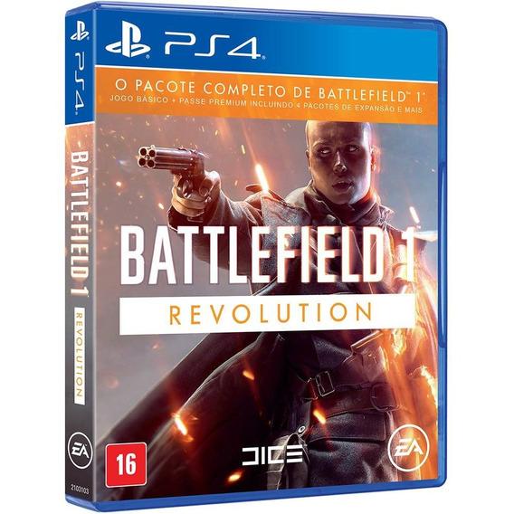 Jogo Battlefield 1 - Revolution (novo) Ps4
