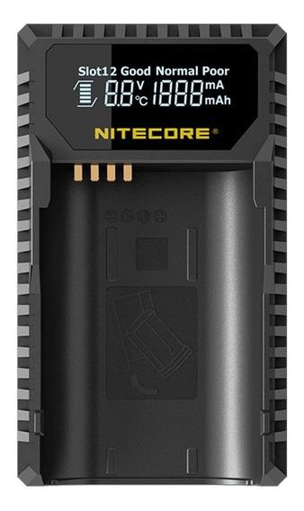 Carregador Usb P/ Baterias Leica Bp-scl4 Nitecore Ulsl