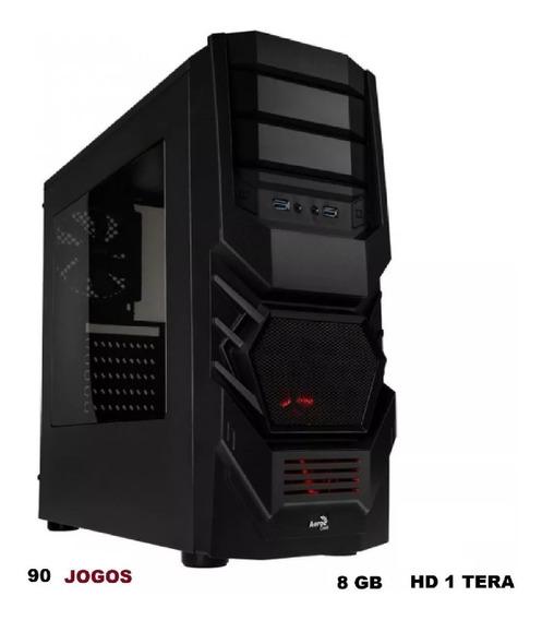 Cpu Gamer Barato A8 7680 Quad Core 1 Tera 8gb Jogos E Wi-fi