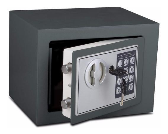Caja Fuerte De Seguridad 23x17x17cm Digital Box 230 Valores