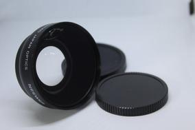 Lente Grande Angular Wide 0.45 + Macro P/ Lentes Rosca 52mm