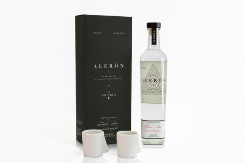 Mezcal Alerón - 750 Ml   1 Botella + Regalo Anfora (2 Shots)