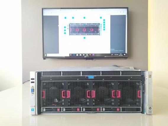Hp Dl580 G9 04x E7-8870v3 18 Core 512 Gb Ram Ddr4 Hd2.4tb