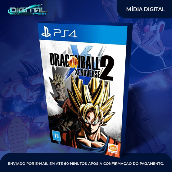 Dragon Ball Xenoverse 2 Ps4 Psn Midia Digital Envio Hj!