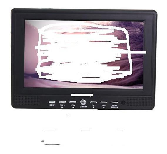 Pantalla Tv-dvd-gps 7 Pulgadas... Para Revisar