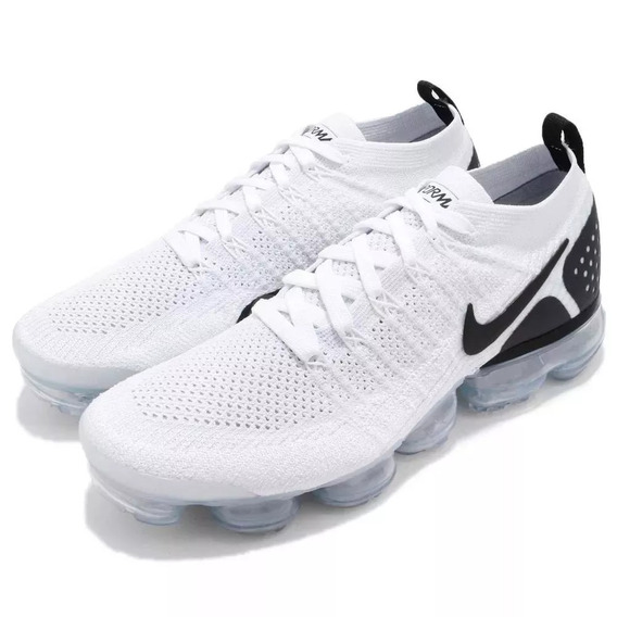 Tenis Nike Vapormax Flyknit 2.0 Air Original White Black
