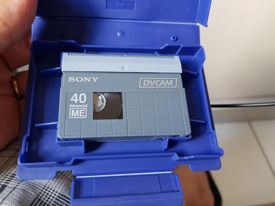 Fita Dvcam Sony Pdvm-40n Nova