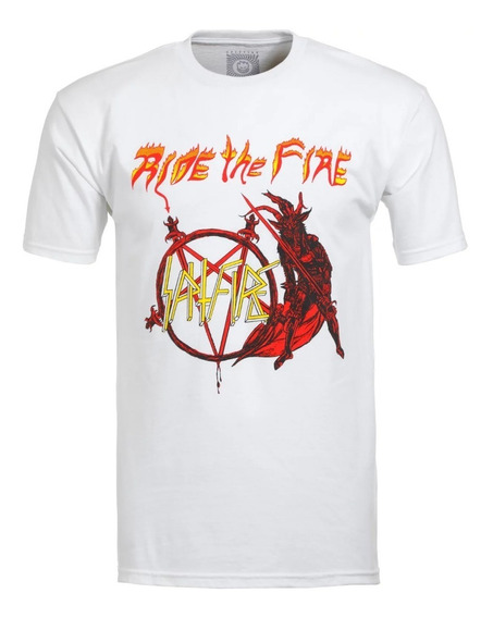 Playera Spitfire S/s No Mercy Wht/red