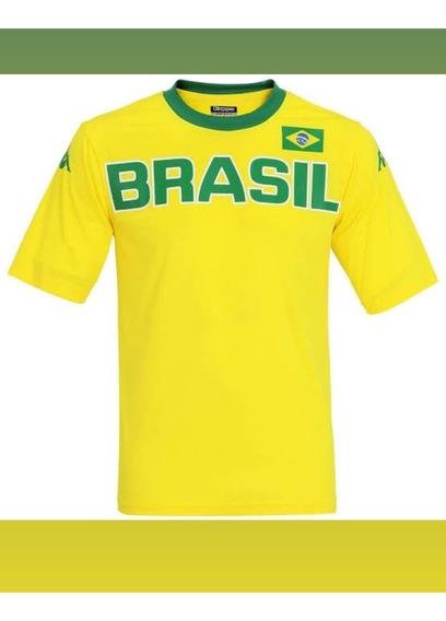 Camisa Seleção Brasileira Kappa