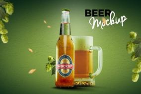 Mockup Para Cerveja