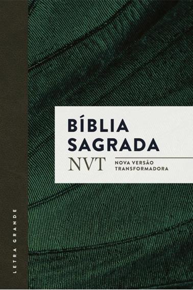 Biblia Sagrada - Capa Verde - Mundo Cristao