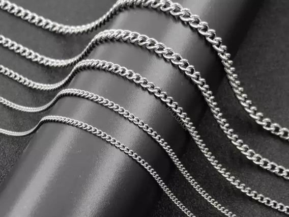 Corrente Masculina Aço Inoxidável Antialérgico 60cm