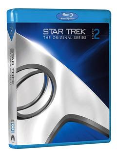 Blu-ray Star Trek 2ª Segunda Temporada 7 Discos Legendado