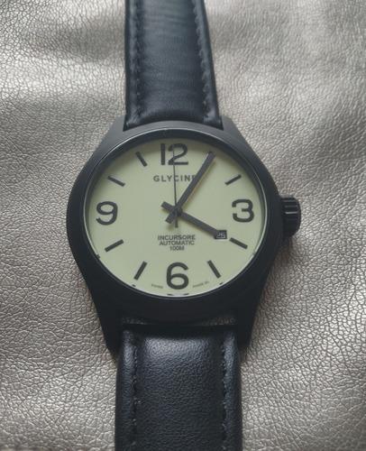 Relógio Glycine Incursore 100m 44mm Luminiscente! Raro!