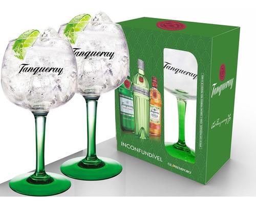 Kit 2 Taça Tanqueray De Gin Original Vidro 600ml