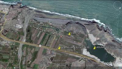 Hermoso Terreno Cerca De La Playa Pana.sur Km 84.3 U$ 55m2