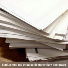 Traduccion De Trabajos Y Articulos En 3 Horas