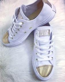 zapatillas converse con cristales en la punta
