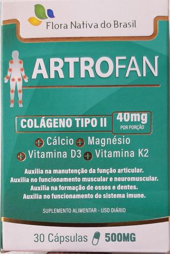 Artofran Com Colágeno Tipo 2+ Cálcio+magnésio+vitaminad3e K2