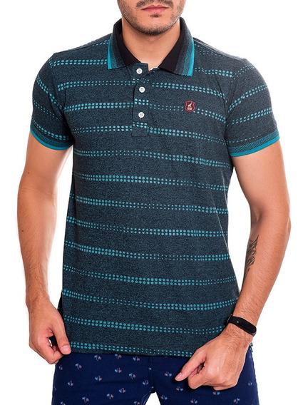 Camisa Polo Masculina Listrada Bamborra Premium 100% Algodão