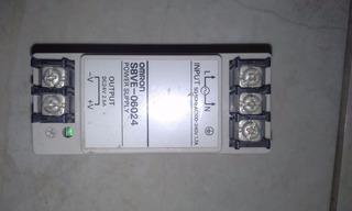 Fonte 24 Volts Dc 2,5 A, Entr 110-240 Vac, Omron S8ver-06024