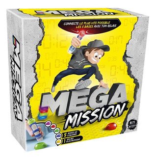 Mega Mission Juego De Destreza Con Postas Oficial Lelab