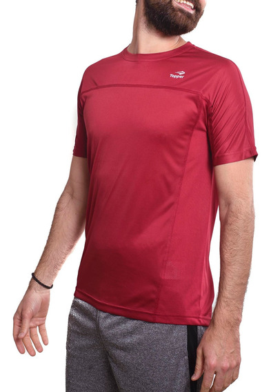 Remera Topper Running Mesh-163457- Open Sports