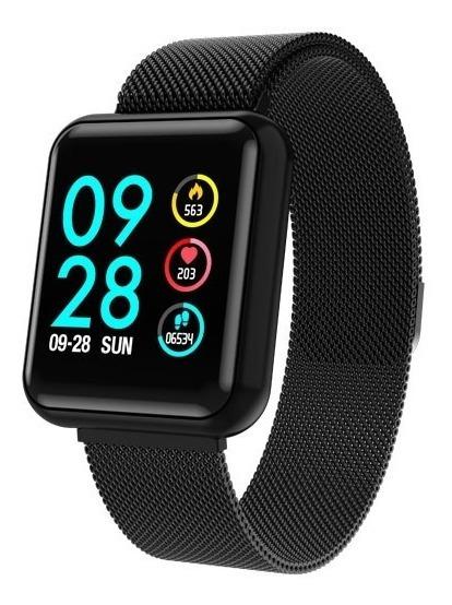 Reloj Inteligente Smart Watch Bluetooth Para Mujer/hombre - Control Música, Notificaciones Redes Sociales