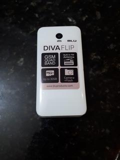 Celular Blu Diva Flip T390 Dual Sim 32mb Tela De 2.4