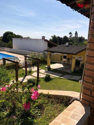 Chácara Com 4 Dormitórios À Venda, 1052 M² Por R$ 1.800.000,00 - Parque Dos Cafezais Vi - Itupeva/sp - Ch0105