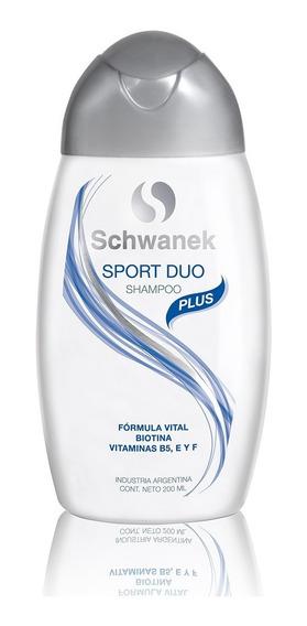 Shampoo Schwanek Sport Dúo Caída De Cabello