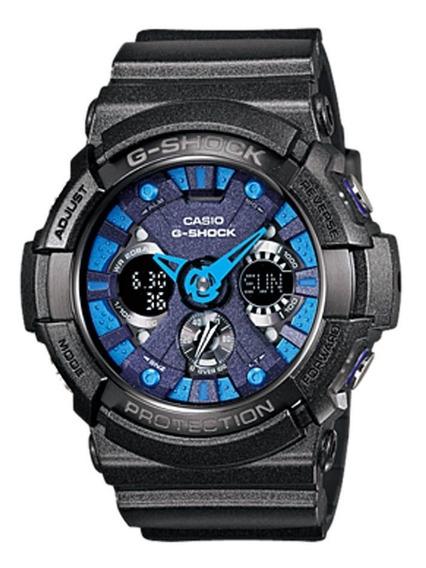 Reloj Casio G Shock Ga 200 Gris Oscuro Cristal Mineral 200 M
