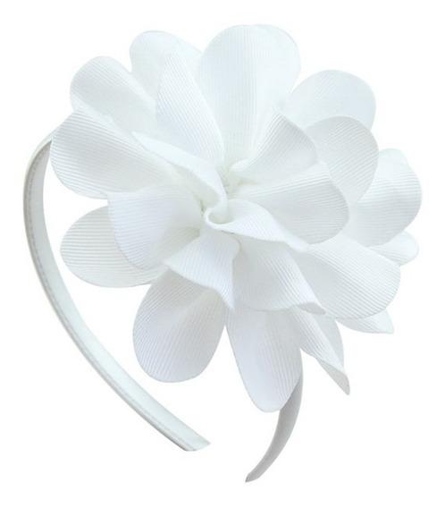 Diadema Para Niñas Con Flor Tocado Accesorios Para Cabello