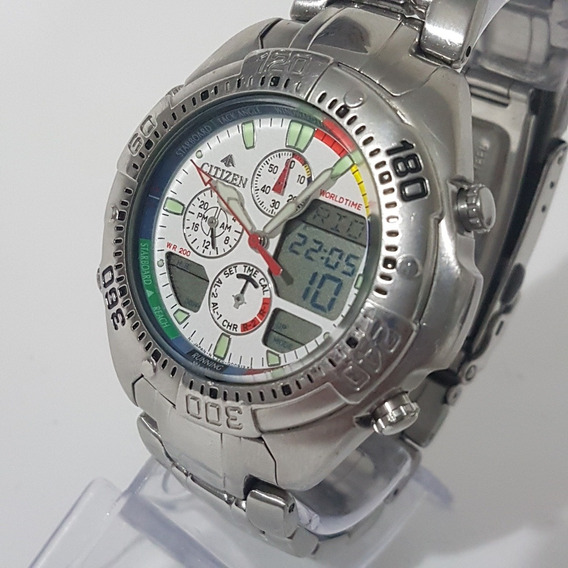 Relogio Citizen Horamund Masculino C320 Antigo Do Vovo Lindo