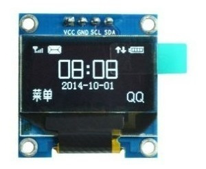 Modulo Display Oled 0.96 I2c Branco Lcd Arduino Pic