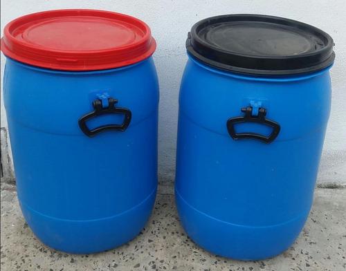 Bidon Plástico 50 Lts. Tapa Araña Desmontable Sin Aro