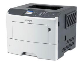 Impressora Lexmark Ms610dn Laser Grátis Bandeja+2 Toner