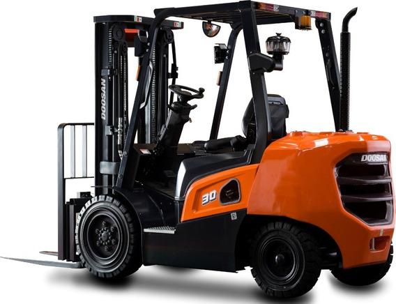 Montacargas 8,000 Libras Diesel, Nuevo Premium Korea Doosan