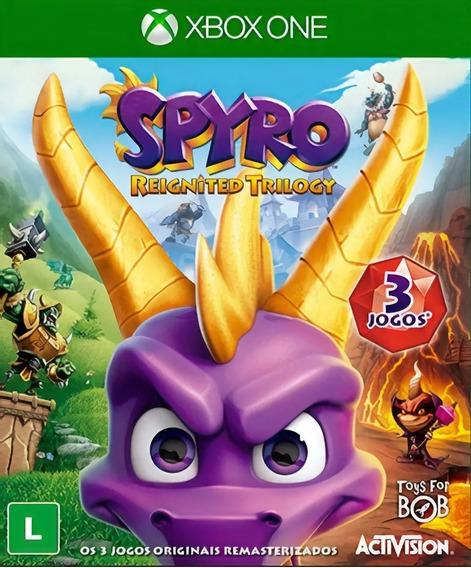 Spyro Reignited Trilogy - Xbox One - Mídia Digital - Dublado