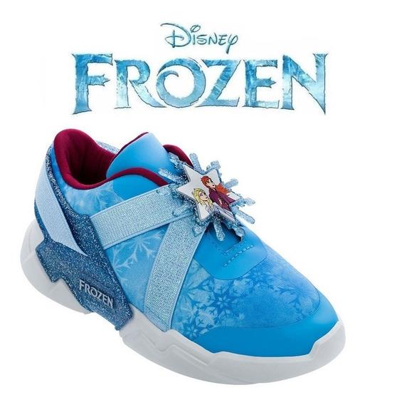 Tênis Frozen Disney Mania Azul Grendene - 22224