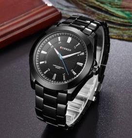 Relógio Mascul Curren Importado Original 8109 Preto Garantia