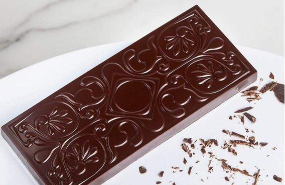 Molde Policarbonato Cw1936 Tableta Chocolate World