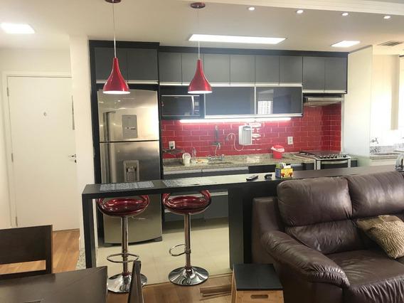 Venda Metro Barra Funda - Apartamento Novo 65m2 - 2 Dormitórios, Suite, 1 Vaga - Projeto De Arquiteto Andar Alto! - Ap0522